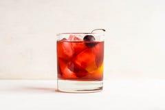 Cocktail antiquado fotografia de stock