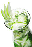 Cocktail - Apple Mojito Royalty Free Stock Image