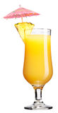 Cocktail arancione Fotografia Stock Libera da Diritti