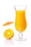 Cocktail arancione del partito Fotografia Stock