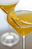 Cocktail arancioni Immagine Stock