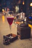 Cocktail auf der Bar Lizenzfreies Stockfoto