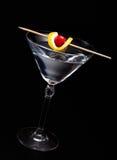 Cocktail auf Schwarzem Stockfoto