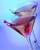 Cocktail avec l'olive Photo libre de droits