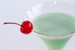 Cocktail avec la cerise Photographie stock