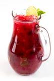 Cocktail avec la chaux image stock
