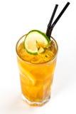 Cocktail avec la chaux Photo libre de droits