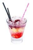 Cocktail avec la grenade Image libre de droits