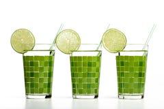 Cocktail avec la limette Image libre de droits