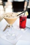 Cocktail avec le goût de café photos libres de droits