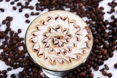 Cocktail avec le goût de café Photo stock