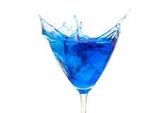 Cocktail azul fotos de stock