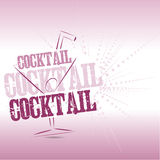 Cocktail Background Royalty Free Stock Image