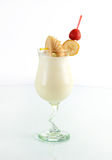 Cocktail Banana Milkshake Royalty Free Stock Photo