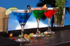 Cocktail on bar Stock Photos