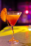 Cocktail at bar Royalty Free Stock Photos