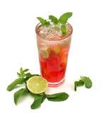 Cocktail - Bevroren Thee Stock Afbeeldingen