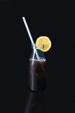 Cocktail bianco e rosso fotografie stock libere da diritti