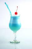 Cocktail-blauer Stern. lizenzfreie stockfotografie