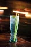 Cocktail bleu Image libre de droits