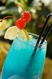 Cocktail bleu Images libres de droits