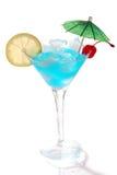 cocktail bleu Curaçao image stock