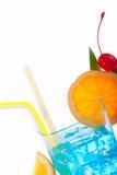 Cocktail bleu de lagune photo libre de droits