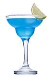 Cocktail bleu de margarita Image libre de droits