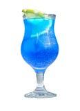 Cocktail bleu régénérateur frais du Curaçao Image stock