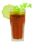 Cocktail Bloody Mary Royalty Free Stock Photography