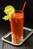 Cocktail Bloody Mary royalty free stock images