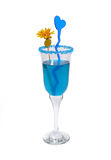 Cocktail blu Immagine Stock