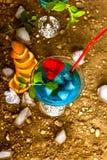 Cocktail blu Immagini Stock Libere da Diritti