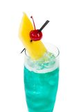 Cocktail blu dell'Hawai Immagine Stock