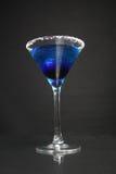 Cocktail blu della laguna immagini stock