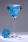 Cocktail blu della maglia Fotografia Stock Libera da Diritti