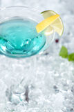 Cocktail blue Royalty Free Stock Image