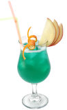 Cocktail - Blue Hawaii Royalty Free Stock Image