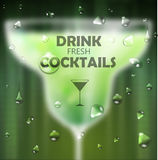 Cocktail blurred background Royalty Free Stock Photography