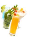 Cocktail on blurred Cocktails Collection Stock Photography