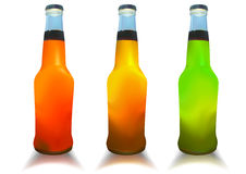 Cocktail bottles. Royalty Free Stock Photography
