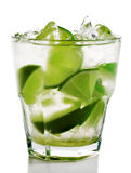 Cocktail - Caipirinha Stockbild