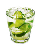 Cocktail - Caipirinha Royalty Free Stock Photography