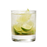 Cocktail - Caipirinha Royalty Free Stock Image