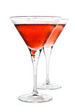 Cocktail and cherry Royalty Free Stock Photo
