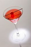 Cocktail with cherry Stock Image