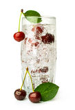 Cocktail with cherry Royalty Free Stock Photography