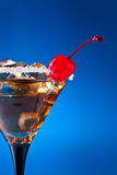 Cocktail with cherry Royalty Free Stock Images