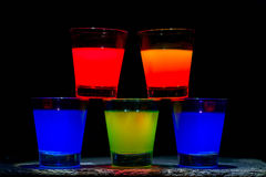 Cocktail cinque Immagini Stock Libere da Diritti