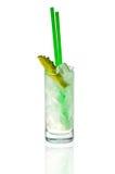 Cocktail claro em um vidro Foto de Stock